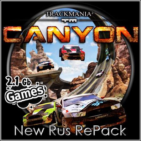 Скачать demon tools lite для windows 7. TrackMania 2: Canyon (New Rus RePac
